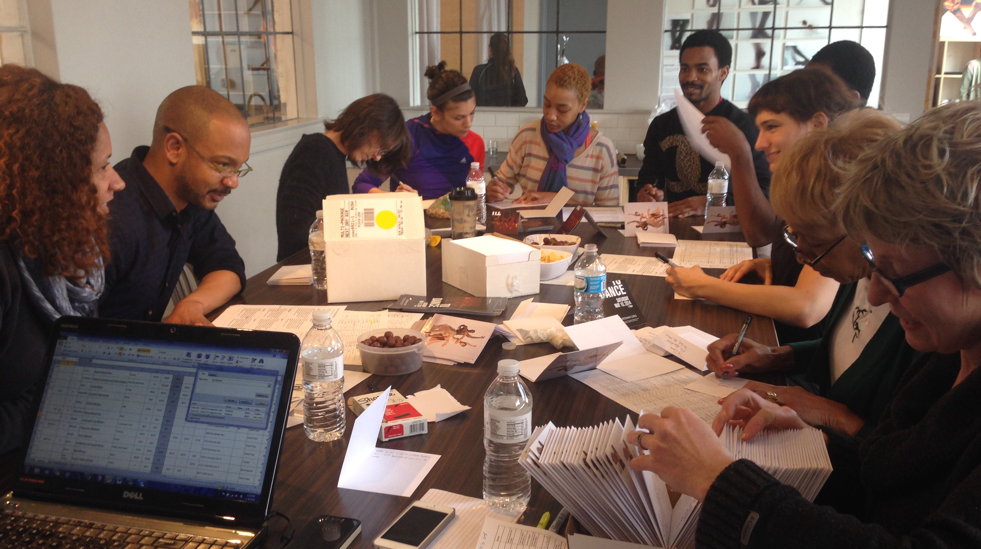 Board members join the Company in a letter writing campaign for TU Dance