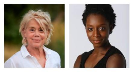 Wendy Anderson and Alanna Morris-Van Tassel
